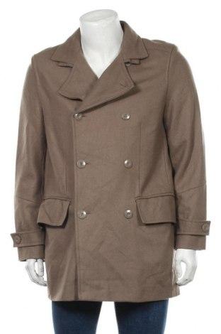 Мъжко палто Class International, Размер L, Цвят Сив, 60% вълна, 40% вискоза, Цена 18,14лв.