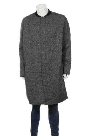 Ανδρικά παλτό Clockhouse, Μέγεθος XXL, Χρώμα Γκρί, 65% πολυεστέρας, 34% βισκόζη, 1% ελαστάνη, Τιμή 23,45€
