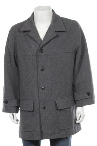 Мъжко палто Esprit, Размер XL, Цвят Сив, 80% вълна, 20% полиамид, Цена 13,91лв.