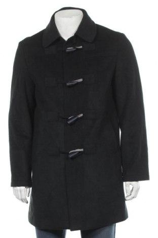Мъжко палто Giovanni Galli, Размер L, Цвят Зелен, 70% вълна, 30% полиестер, Цена 12,60лв.