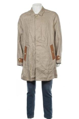 Pánský kabát  Massimo Dutti, Velikost XL, Barva Béžová, Len, Cena  2861,00Kč
