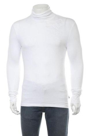 Мъжко поло Pier One, Размер S, Цвят Бял, 95% памук, 5% еластан, Цена 28,42лв.
