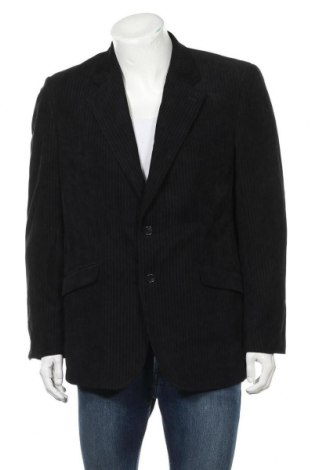 Мъжко сако, Размер L, Цвят Черен, 85% полиестер, 15% полиамид, Цена 7,35лв.