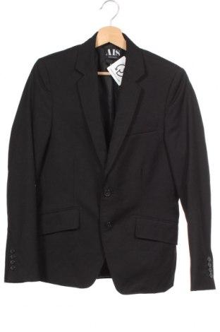 Мъжко сако AIS - Denim Laundry, Размер S, Цвят Черен, 70% полиестер, 30% вискоза, Цена 7,61лв.