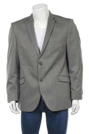 Мъжко сако Angelo Litrico, Размер L, Цвят Сив, 90% полиестер, 10% вискоза, Цена 8,93лв.