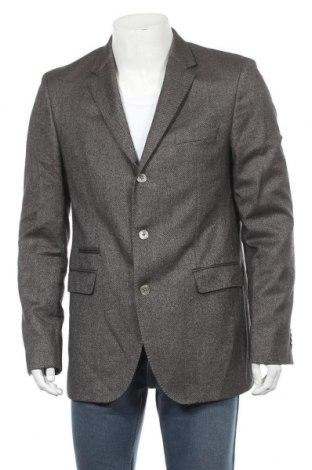 Pánské sako  Boss, Velikost L, Barva Vícebarevné, 80% vlna, 16% hedvábí, 4% kašmír , Cena  2123,00Kč
