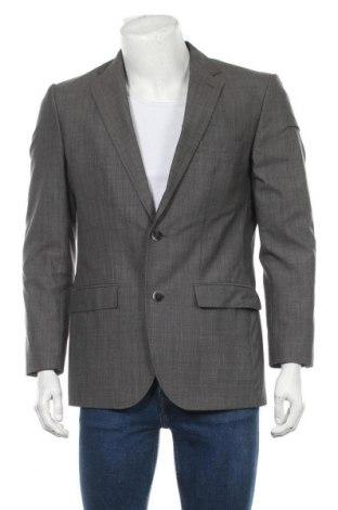 Мъжко сако Esprit, Размер M, Цвят Сив, 55% полиестер, 45% вълна, Цена 9,88лв.