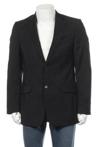 Мъжко сако Esprit, Размер M, Цвят Черен, Вълна, Цена 21,42лв.