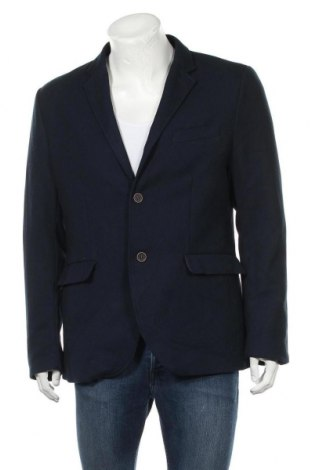 Pánské sako  H&M, Velikost XL, Barva Modrá, 64% polyester, 34% viskóza, 2% elastan, Cena  302,00Kč