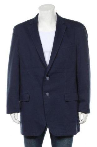 Мъжко сако Hechter, Размер L, Цвят Син, 97% памук, 3% еластан, Цена 13,65лв.