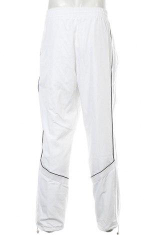 Мъжко спортно долнище Adidas, Размер XL, Цвят Бял, Полиестер, Цена 51,94лв.