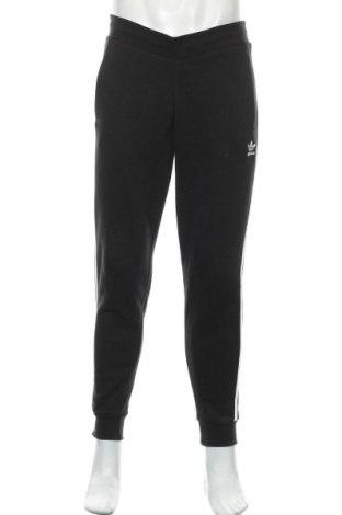 Pantaloni trening de bărbați Adidas Originals, Mărime L, Culoare Negru, 95% bumbac, 5% elastan, Preț 226,97 Lei