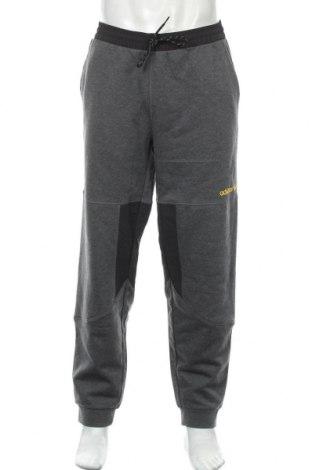 Pantaloni trening de bărbați Adidas Originals, Mărime L, Culoare Gri, 77% bumbac, 23% poliester, Preț 219,57 Lei