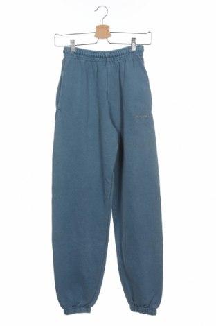 Pantaloni trening de bărbați Urban Outfitters, Mărime XS, Culoare Albastru, 80% bumbac, 20% poliester, Preț 167,76 Lei