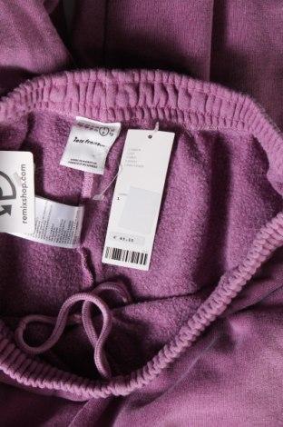 Мъжко спортно долнище Urban Outfitters, Размер L, Цвят Пепел от рози, 79% памук, 21% полиестер, Цена 51,75лв.