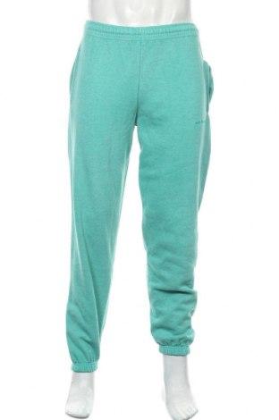 Pantaloni trening de bărbați Urban Outfitters, Mărime S, Culoare Verde, 80% bumbac, 20% poliester, Preț 194,90 Lei
