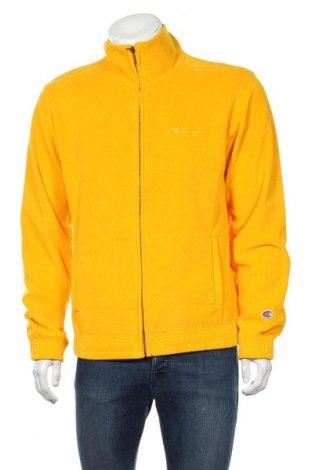 Мъжко спортно горнище Champion, Размер L, Цвят Жълт, 80% памук, 20% полиестер, Цена 40,60лв.