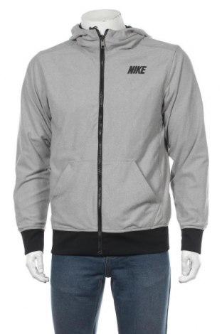 Pánská sportovní bunda  Nike, Velikost S, Barva Šedá, 55% polyester, 45% polyamide, Cena  1084,00Kč