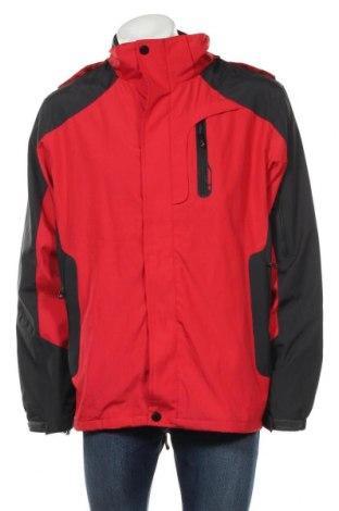 Ανδρικό μπουφάν, Μέγεθος XL, Χρώμα Κόκκινο, Πολυεστέρας, Τιμή 20,98€