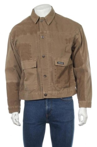 Мъжко яке BDG, Размер M, Цвят Кафяв, 100% памук, Цена 74,82лв.