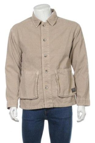 Мъжко яке BDG, Размер S, Цвят Бежов, 100% памук, Цена 65,45лв.