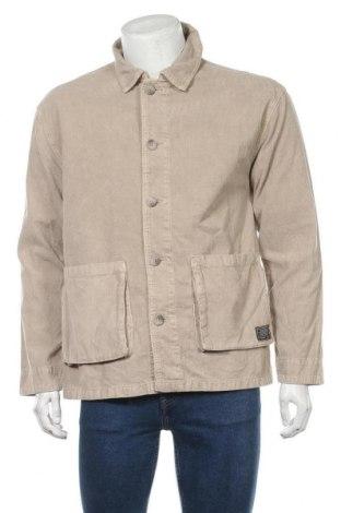 Мъжко яке BDG, Размер S, Цвят Бежов, 100% памук, Цена 64,96лв.