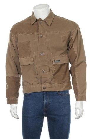 Мъжко яке BDG, Размер S, Цвят Кафяв, 100% памук, Цена 68,20лв.
