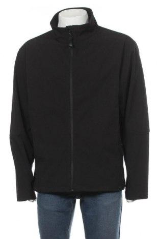 Ανδρικό μπουφάν James & Nicholson, Μέγεθος XXL, Χρώμα Μαύρο, 90% πολυεστέρας, 10% ελαστάνη, Τιμή 21,59€