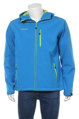Pánská bunda  Kilimanjaro, Velikost L, Barva Modrá, 96% polyester, 4% elastan, Cena  654,00Kč