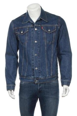 Pánská bunda  Levi's, Velikost M, Barva Modrá, Bavlna, Cena  1030,00Kč