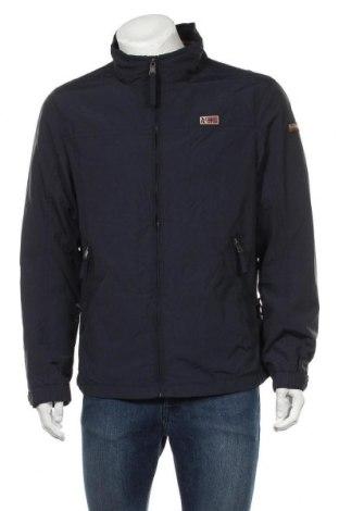Pánská bunda  Napapijri, Velikost XL, Barva Modrá, Polyester, Cena  1787,00Kč