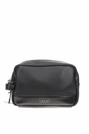 Neseser Liu Jo, Culoare Negru, Piele ecologică, Preț 108,95 Lei