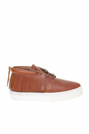 Обувки Clear Weather, Размер 40, Цвят Кафяв, Естествена кожа, Цена 45,12лв.