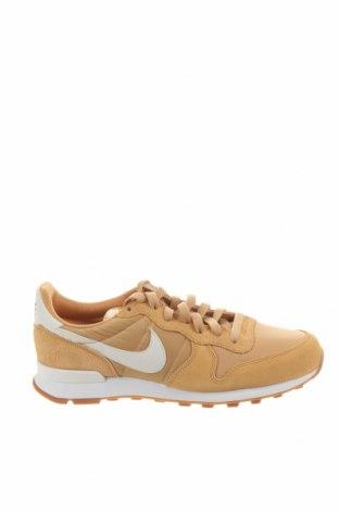 Boty  Nike, Velikost 40, Barva Béžová, Přírodní velur , textile , Eko kůže, Cena  2739,00Kč