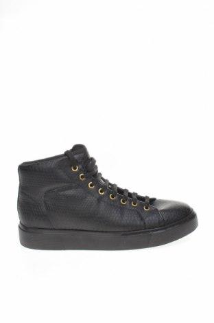 Încălțăminte Zara, Mărime 43, Culoare Negru, Piele ecologică, Preț 131,74 Lei