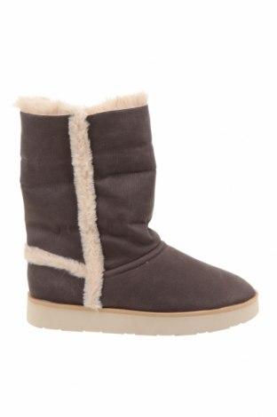 Детски обувки Zara, Размер 37, Цвят Сив, Текстил, Цена 29,37лв.