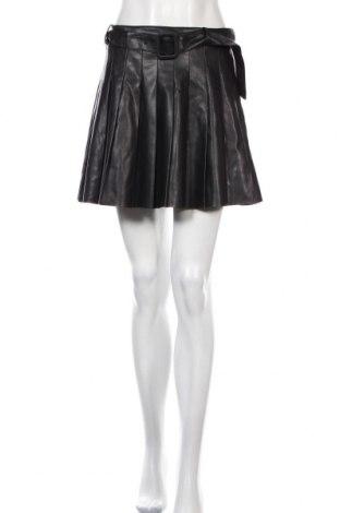 Sukně- kalhoty  Zara, Velikost XL, Barva Černá, Eko kůže, Cena  812,00Kč