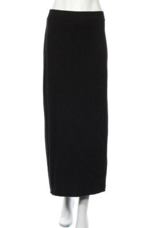 Φούστα H&M Divided, Μέγεθος M, Χρώμα Μαύρο, 49% βαμβάκι, 47% μοντάλ, 4% ελαστάνη, Τιμή 4,77€