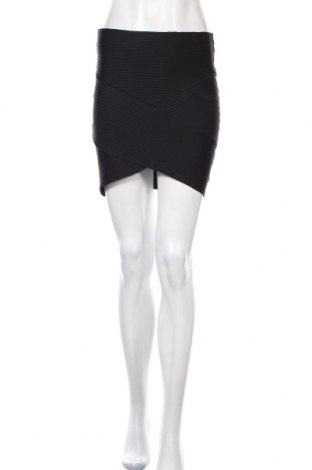 Φούστα H&M Divided, Μέγεθος M, Χρώμα Μαύρο, 94% πολυεστέρας, 6% ελαστάνη, Τιμή 13,10€