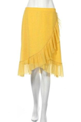 Пола Saint Tropez, Размер M, Цвят Жълт, Цена 11,80лв.