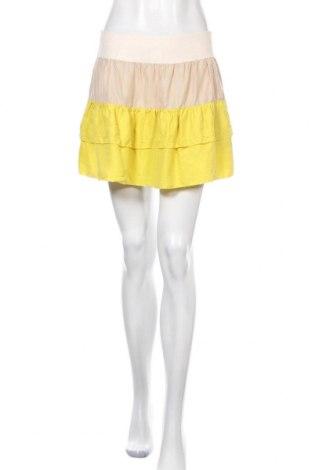 Φούστα See By Chloe, Μέγεθος M, Χρώμα Κίτρινο, 100% μετάξι, Τιμή 34,98€