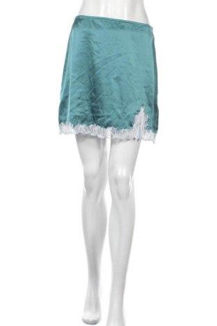 Пола Urban Outfitters, Размер M, Цвят Зелен, Полиестер, Цена 31,05лв.