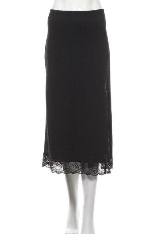 Пола Urban Outfitters, Размер M, Цвят Черен, 86% полиамид, 14% еластан, Цена 59,25лв.