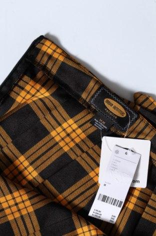 Пола Urban Outfitters, Размер M, Цвят Жълт, Полиестер, Цена 59,25лв.