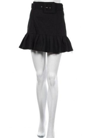 Пола Zara, Размер M, Цвят Черен, 69% полиестер, 26% вискоза, 5% еластан, Цена 14,75лв.
