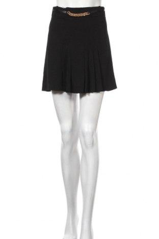 Fustă Zara, Mărime S, Culoare Negru, Viscoză, Preț 194,08 Lei