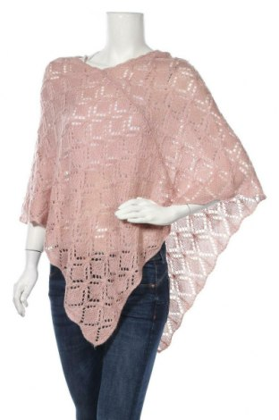 Poncho Design By Kappahl, Mărime M, Culoare Roz, Acrilic, Preț 85,05 Lei