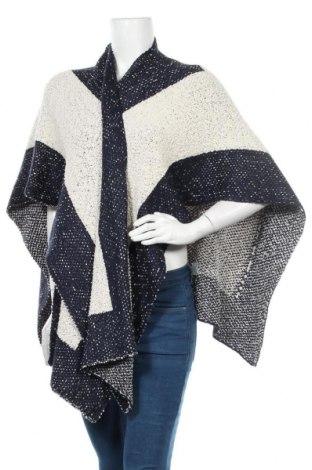 Πόντσο Nicole, Μέγεθος M, Χρώμα Μπλέ, Ακρυλικό, Τιμή 18,70€