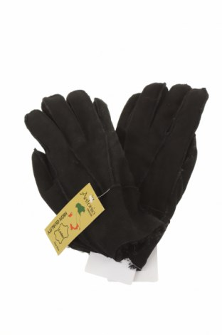 Rękawiczki, Kolor Czarny, Skóra naturalna, Cena 52,50zł