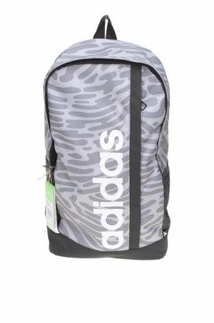 Σακίδιο πλάτης Adidas, Χρώμα Γκρί, Κλωστοϋφαντουργικά προϊόντα, δερματίνη, Τιμή 33,03€